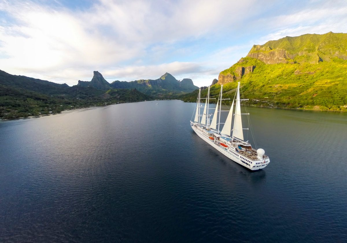 small-ship sector includes Windstar Tahiti