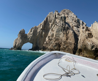 Arch in Cabo on a Sea of Cortez cruise
