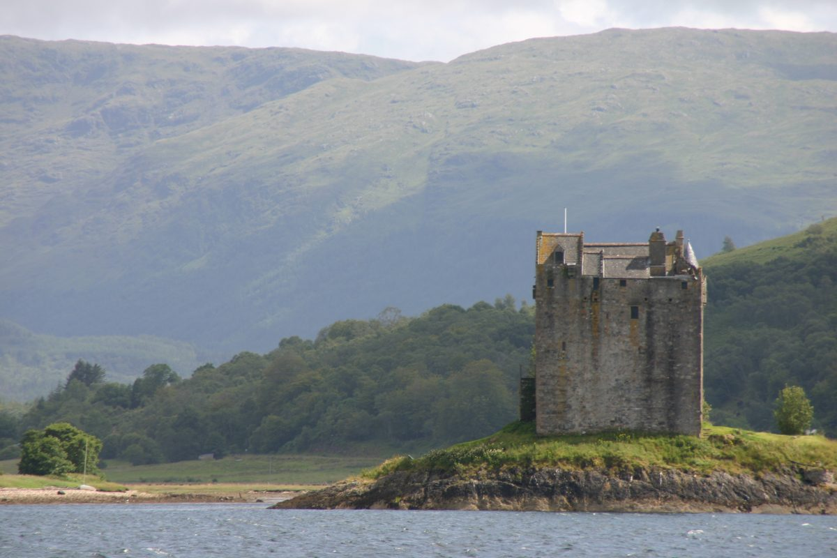 Castle Stalker on a COVID-19 cruise