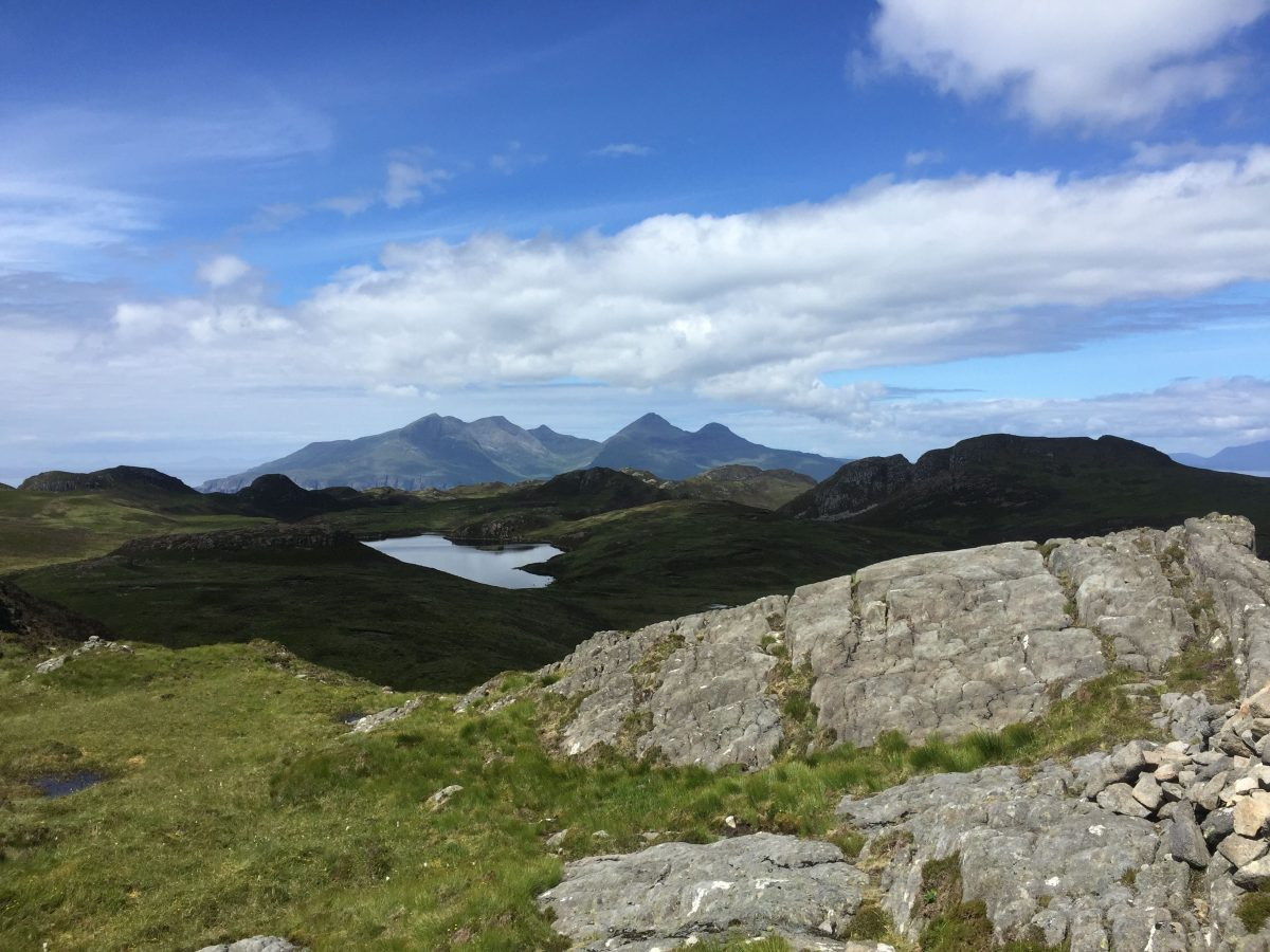 Eigg mountains