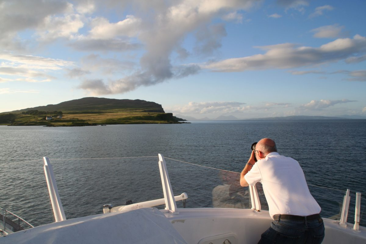 Emma Jane cruising the Hebrides