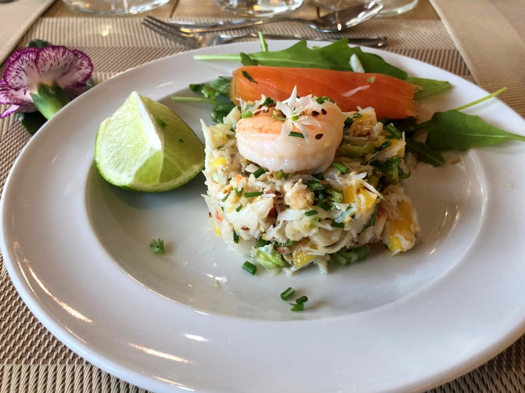 Hebrides Cruises dinner