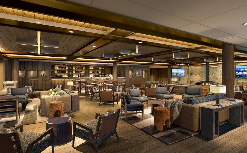 Seabourn Venture's Expedition lounge