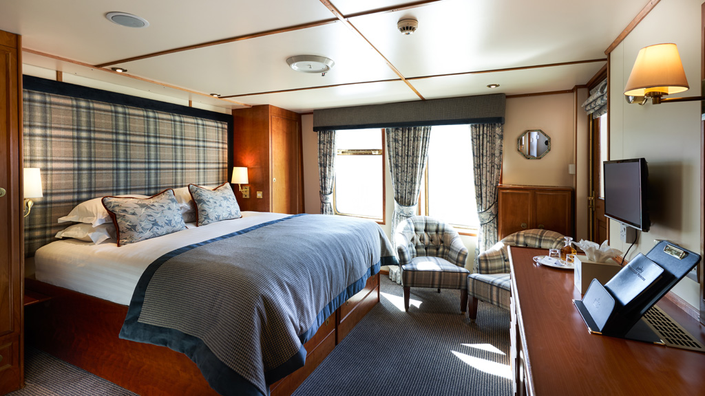 Berneray on Hebridean Princess