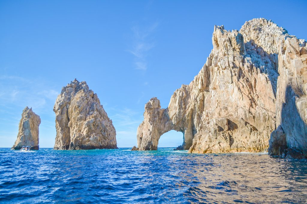 Cabo San Lucas in the Sea of Cortez