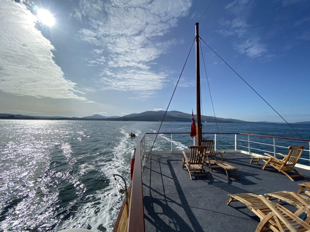 Glen Shiel's deck