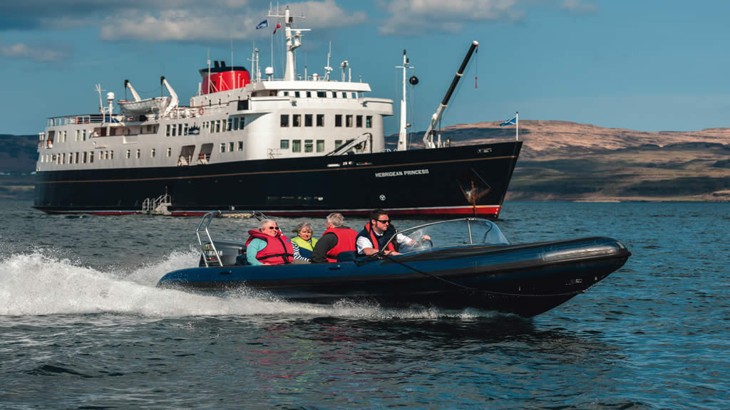 Hebridean Princess zodiac