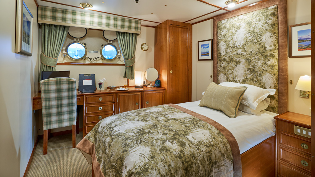 Hebridean Princess single cabin