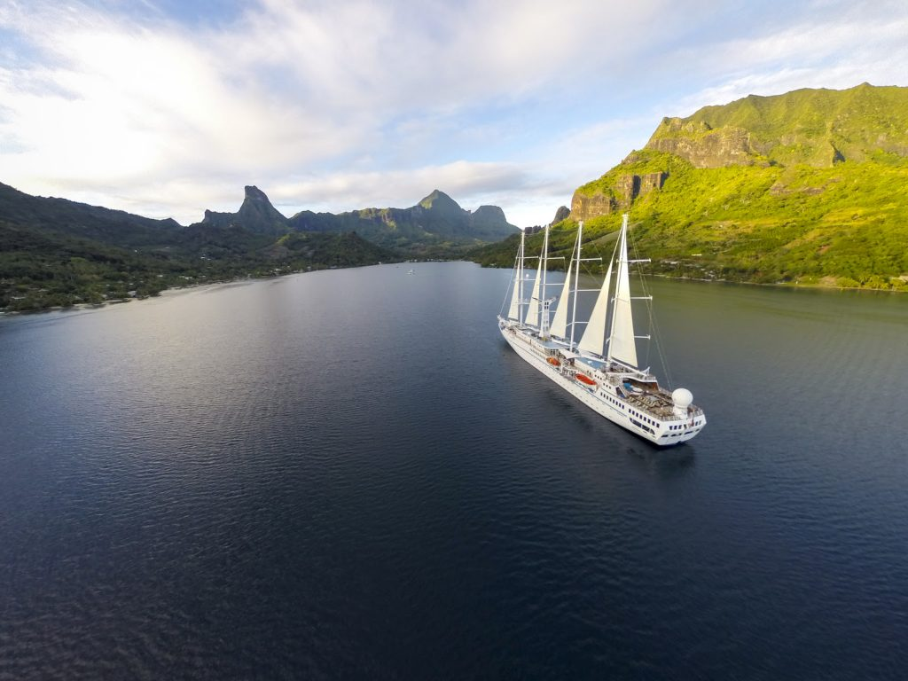 Wind Spirit in Tahiti