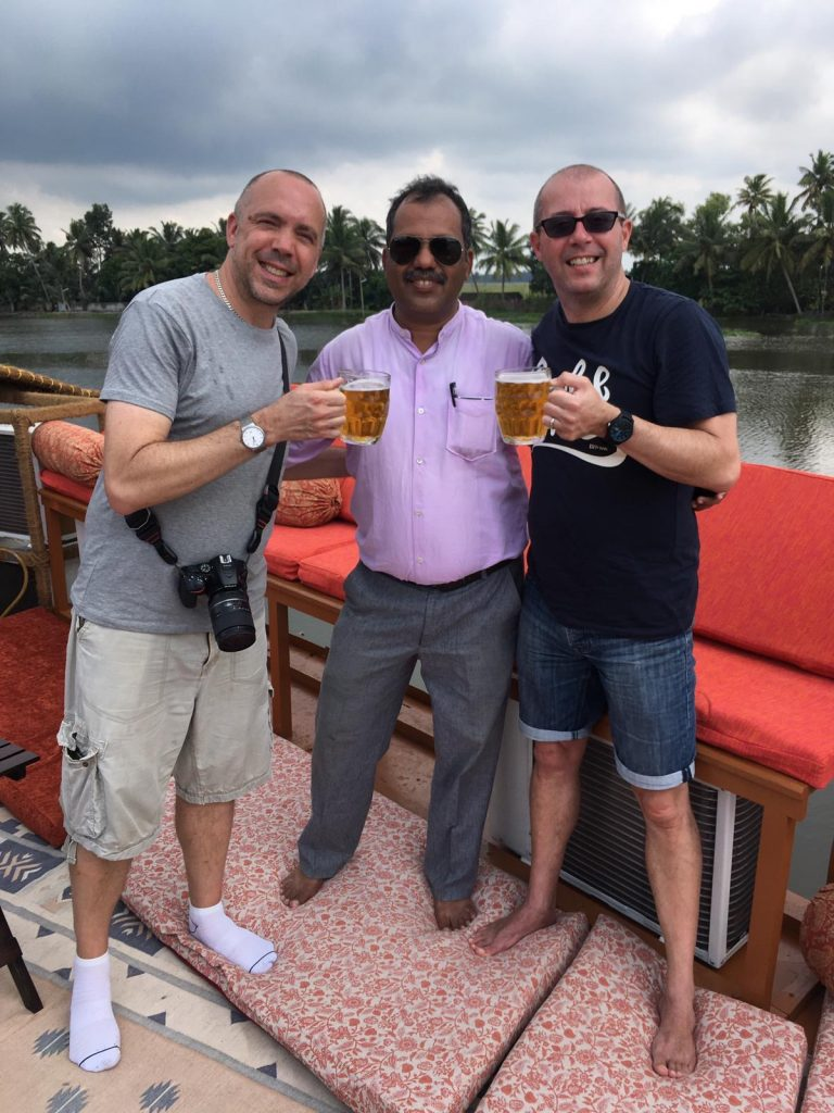 mugs of beer on the Vaikundam