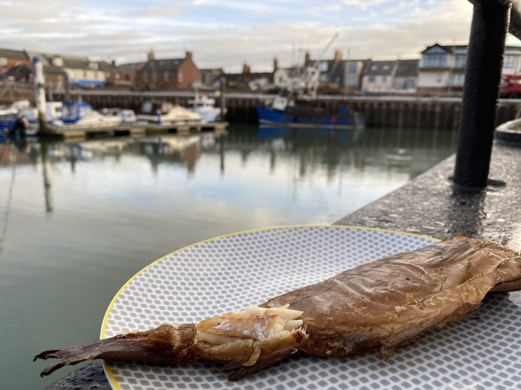 Arbroath Smokies on a Scottish east coast cruise