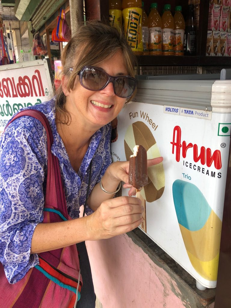 ice cream Arun in Kerala town