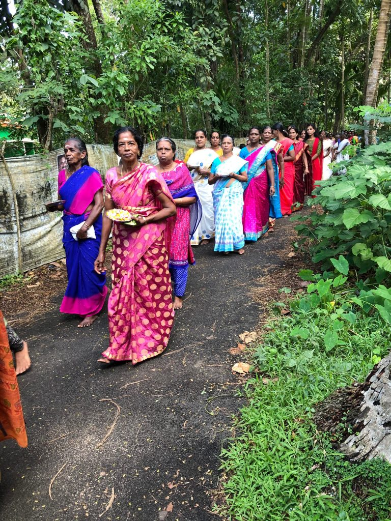 village festival in Kerala