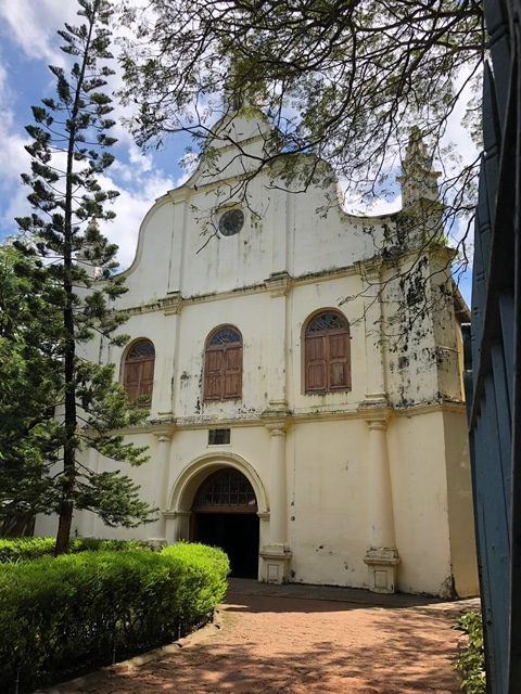 church Vasso da Gama was buried in in 1524.
