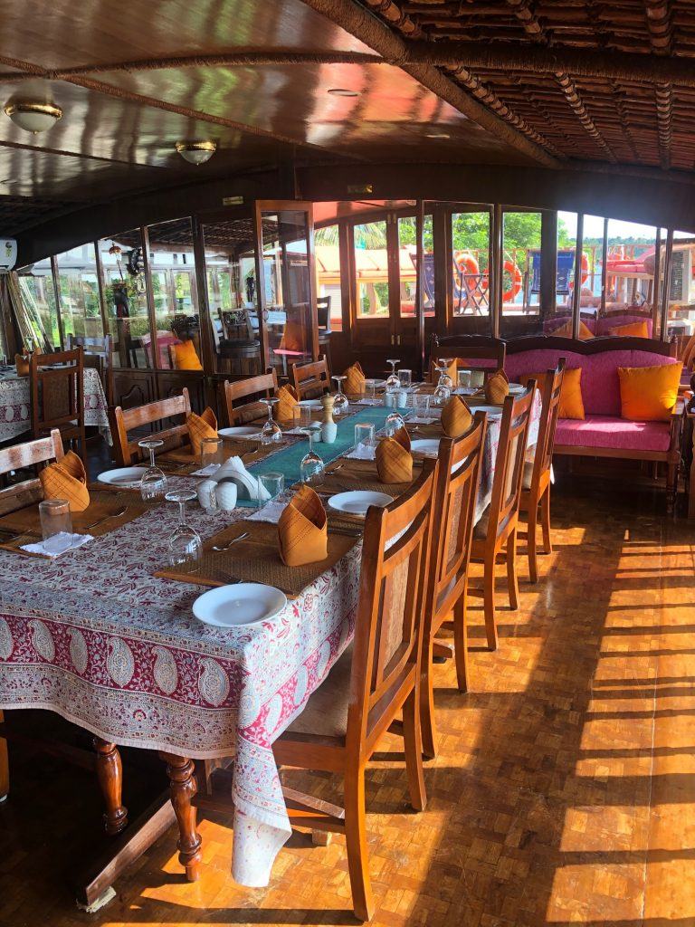 Vaikundam's dining area