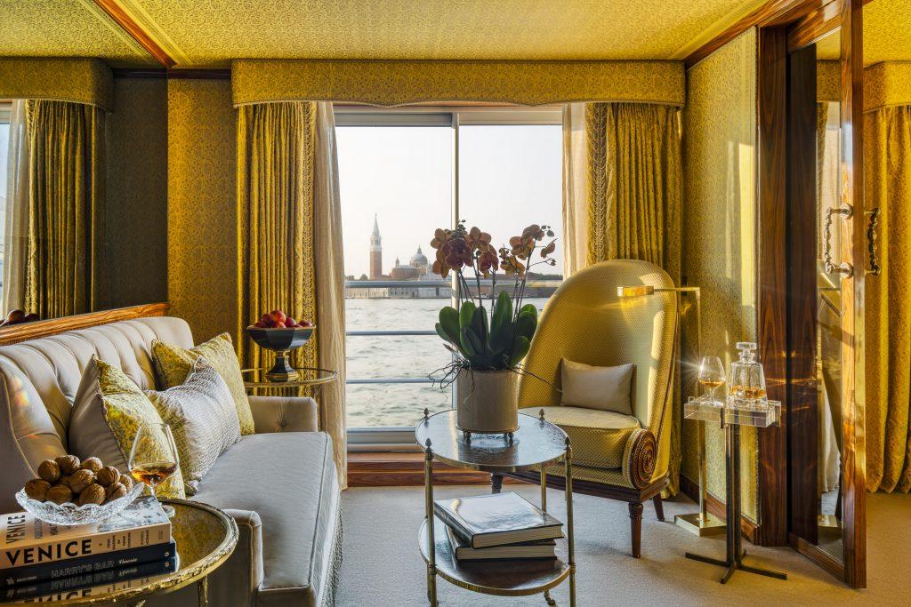 Uniworld's La Venezia suite interior