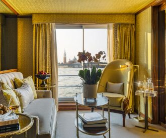 Uniworld's La Venezia suite interior