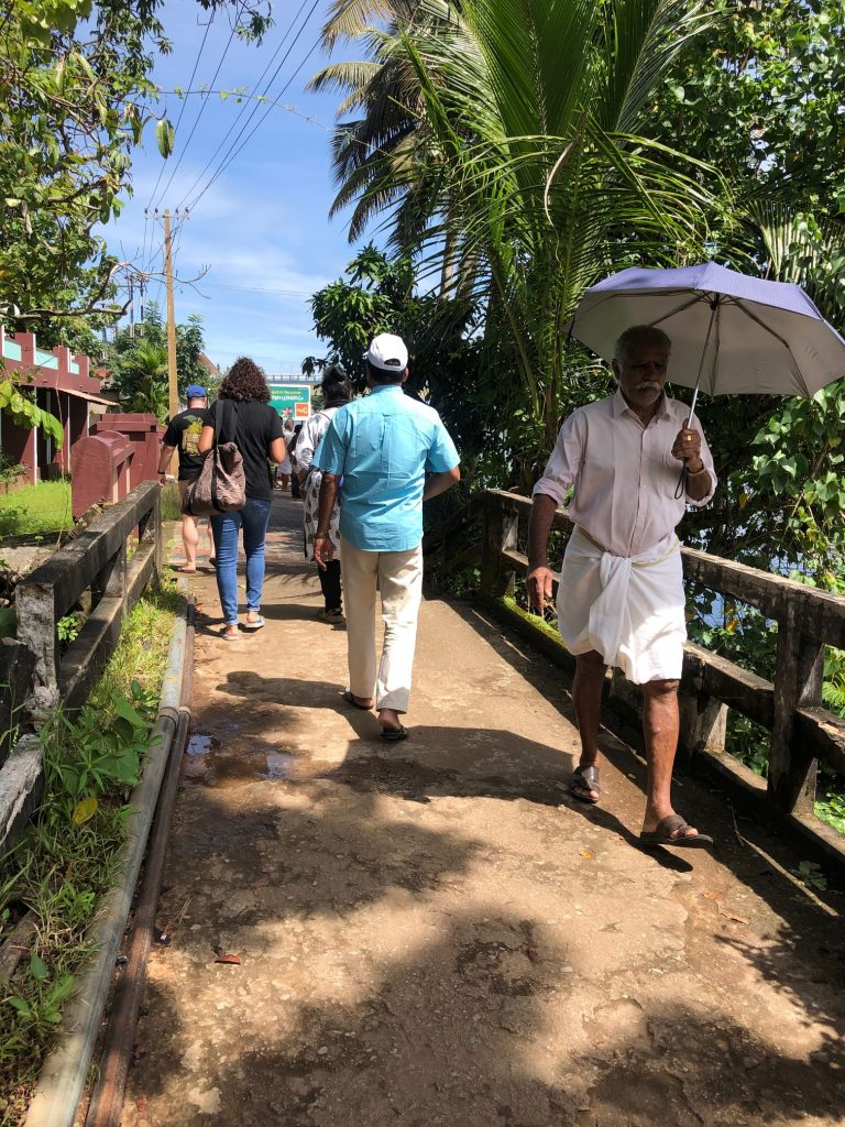village walk in Kerala with guide