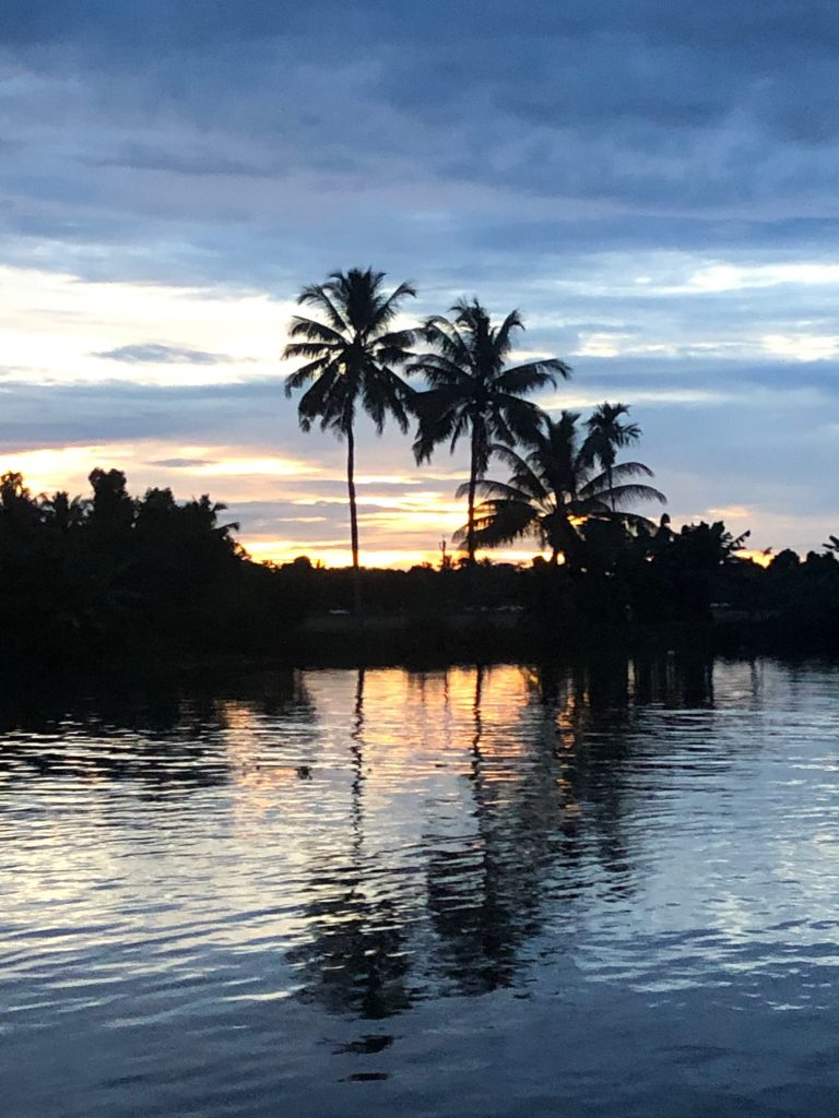 Kerala Backwaters cruise village walk sunset