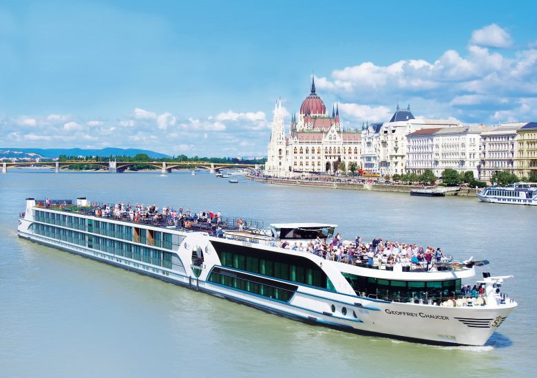 Geoffrey Chaucer river cruise boat