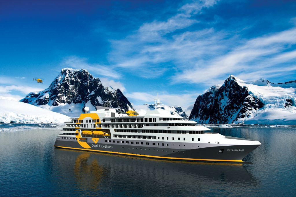 Quark Expeditions' Ultramarine will be new for Antarctica next year