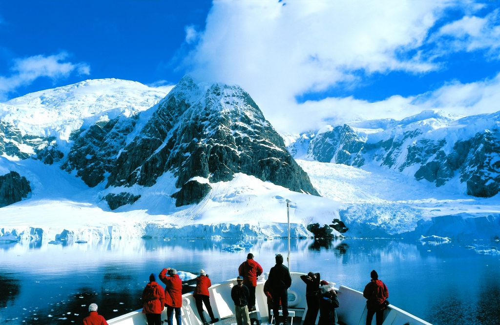 Lindblad Antarctic cruise last year