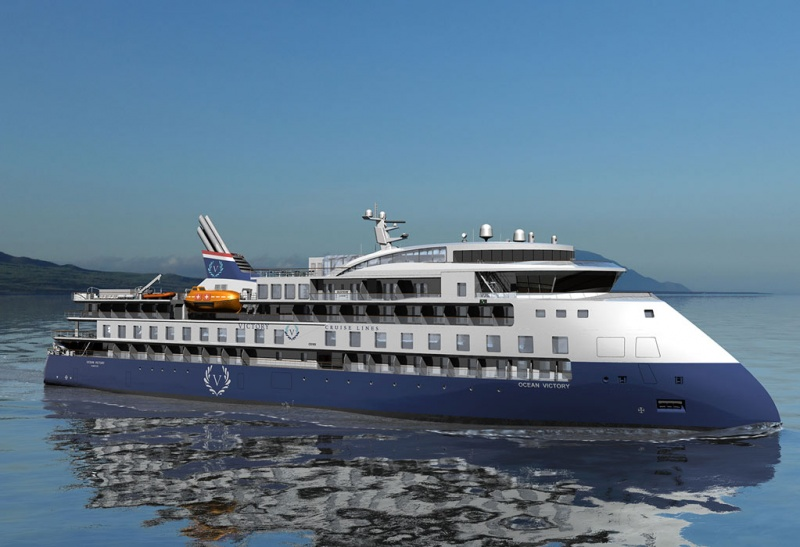 200-passenger expedition ship Ocean Victory with wave season offers