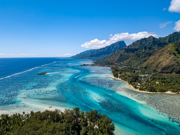 Moorea stop for Windstar Cruises