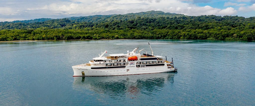 Revived Australia & New Zealand Expeditions include Coral Expeditions Coral Adventurer
