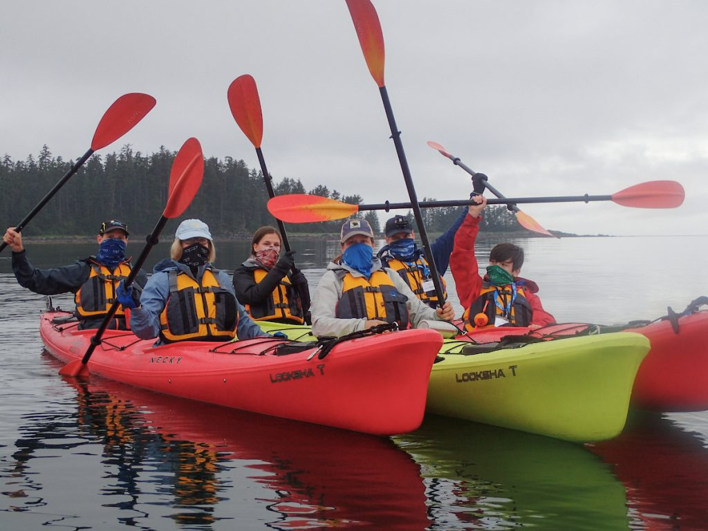 Kayaking with UnCruise in a COVID world